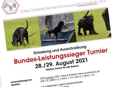 Bundes-Leistungssieger Turnier 2021